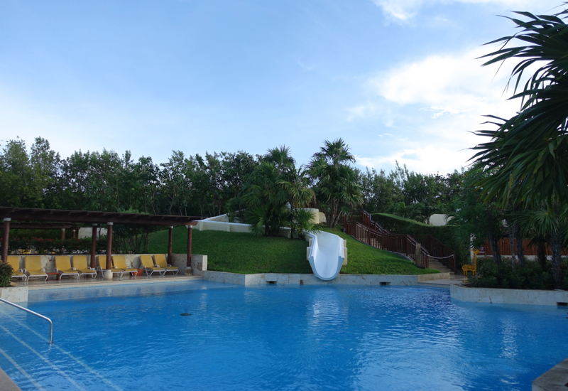 Fairmont Mayakoba Review-Waterslide and Pool by La Laguna
