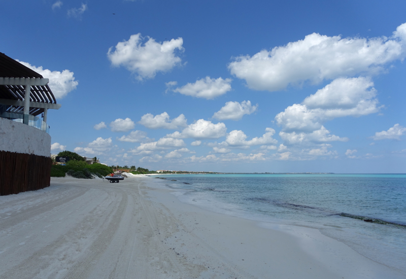 Fairmont Mayakoba Review-Beach