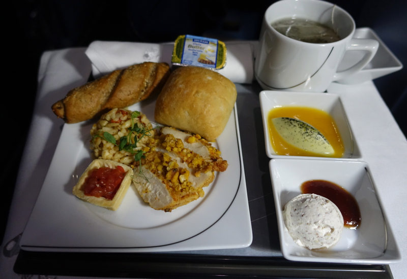 Cold Meal, Air Berlin Business Class Review