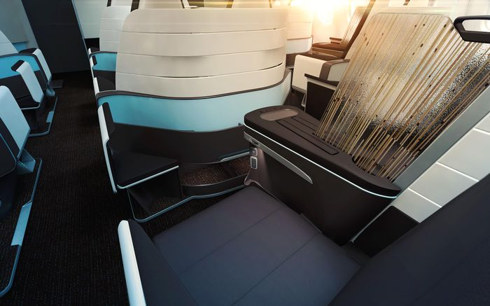 Hawaiian Airlines: New Flat Bed Seats in First Class