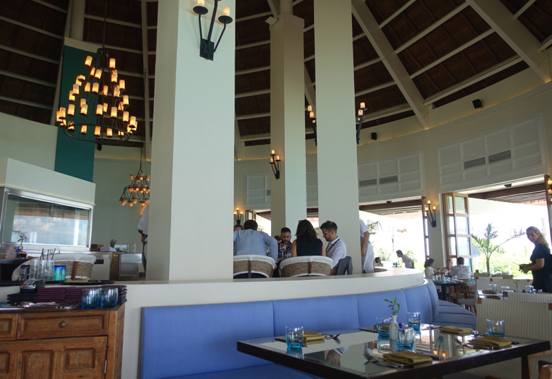 Brisas Restaurant Seating, Fairmont Mayakoba Review