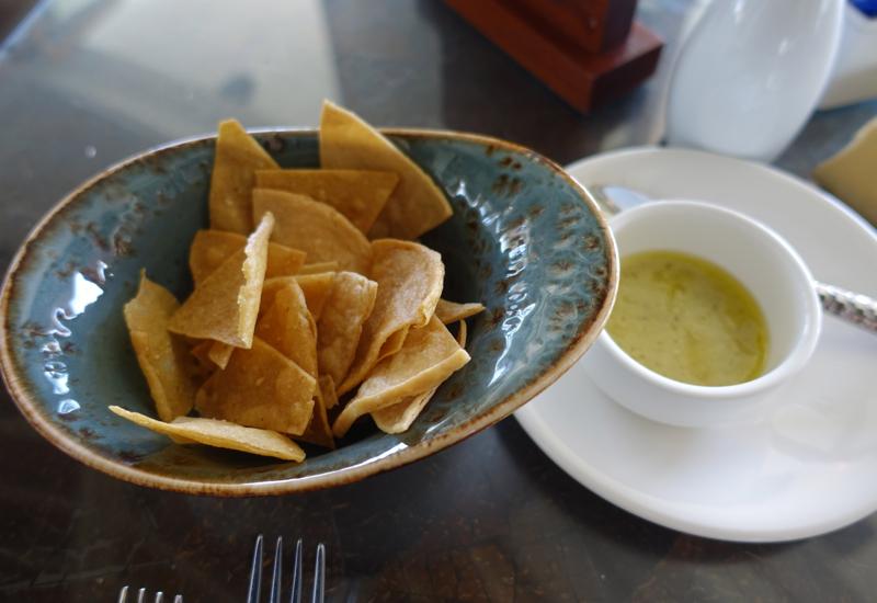 Tortilla Chips and Habanero Sauce, Brisas Restaurant