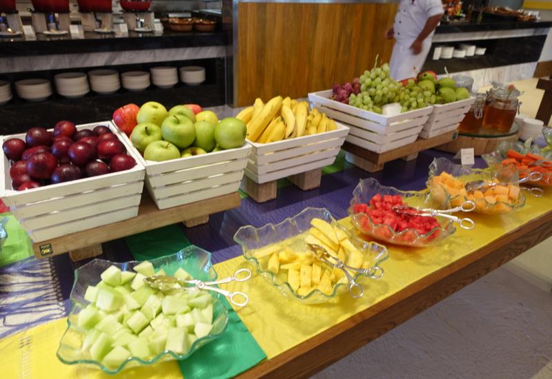 Fairmont Mayakoba La Laguna Breakfast Review-Fruit