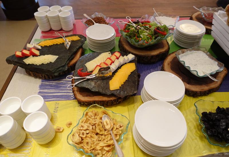 Cheese and Salad, Breakfast, Fairmont Mayakoba Review