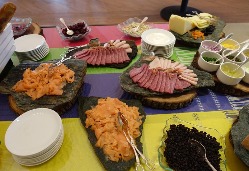 Smoked Salmon and Cold Cuts, Breakfast at Fairmont Mayakoba