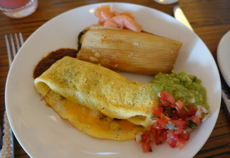 Omelet, Breakfast at Fairmont Mayakoba Review