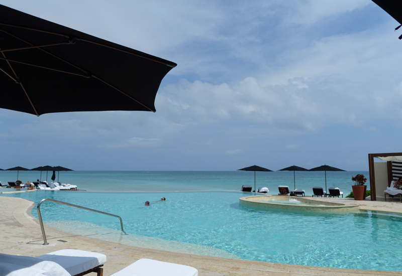 Rosewood Mayakoba Beach-front Infinity Pool