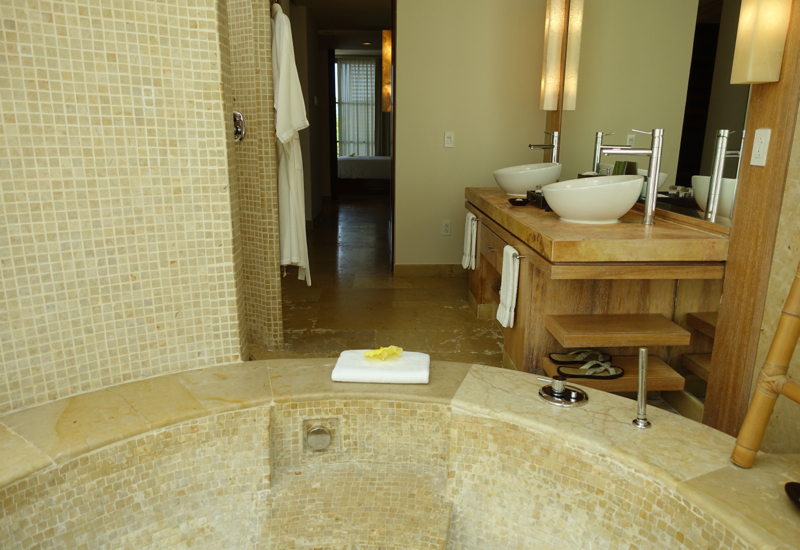 Rosewood Mayakoba Deluxe Lagoon Suite Review-Master Bathroom
