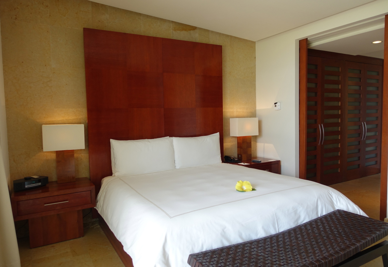 Rosewood Mayakoba Review-Deluxe Lagoon Suite Bedroom