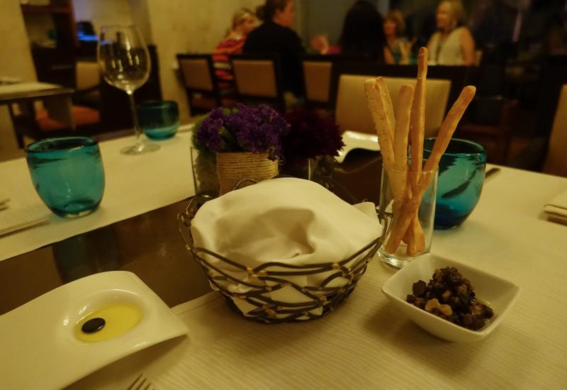 Casa del Lago Bread, Olive Oil and Mushrooms, Rosewood Mayakoba Review