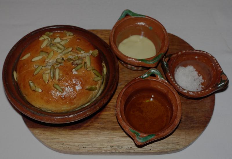 Fresh Bread, Punta Bonita Dinner, Rosewood Mayakoba Review