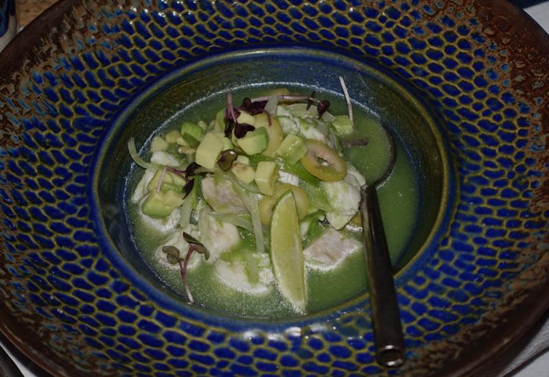 Sea Bass Ceviche, Punta Bonita, Rosewood Mayakoba