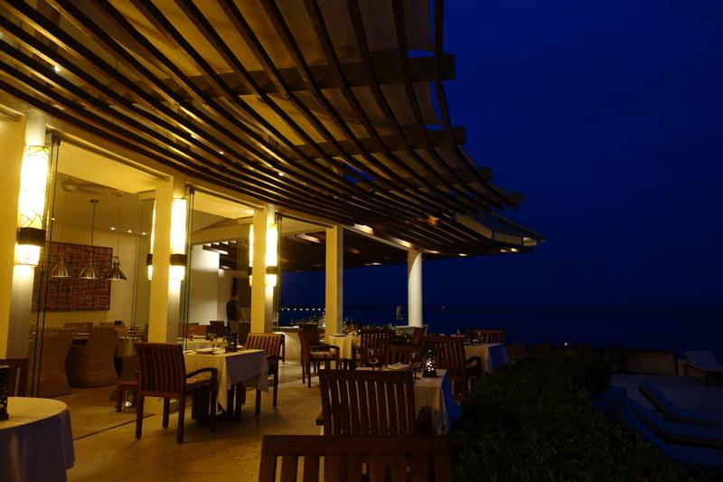 Punta Bonita Restaurant at Night, Rosewood Mayakoba Review