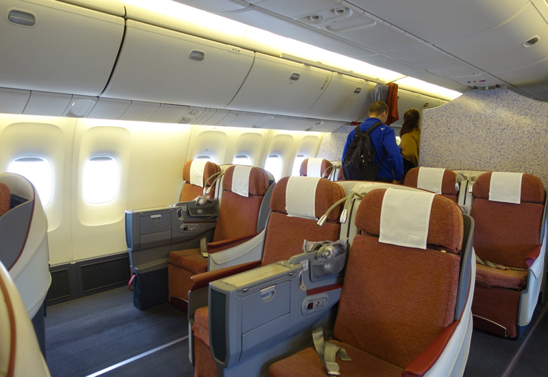 TAM Airlines New Business Class Cabin Review-767-300ER