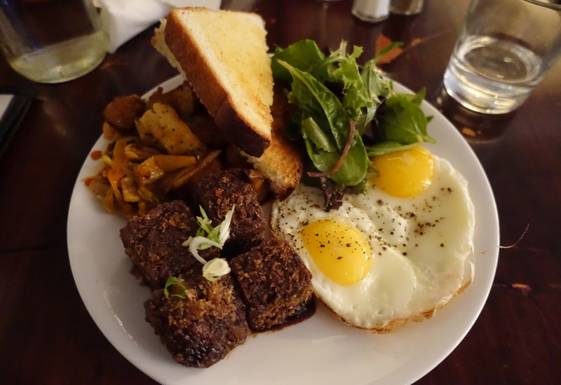 Beast Toronto Restaurant Review-Brunch-Crispy Pork Hocks with Kecap Manis and Kimchi