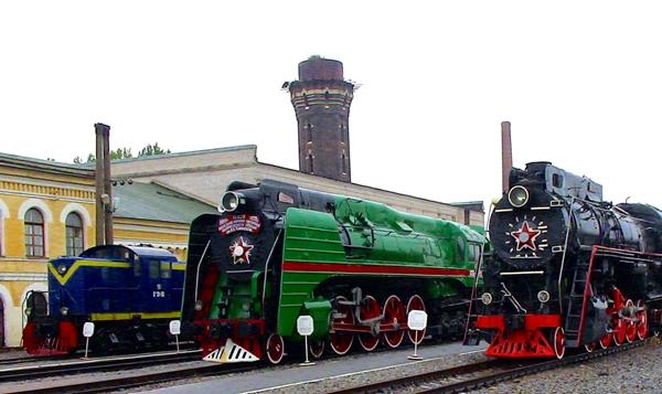 Railway Museum, St. Petersburg, Russia