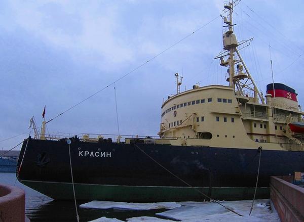 Krasin Icebreaker, St. Petersburg, Russia