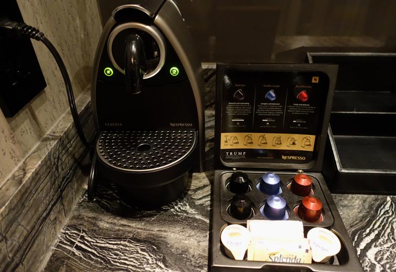 Trump Toronto Hotel Review-Nespresso Machine
