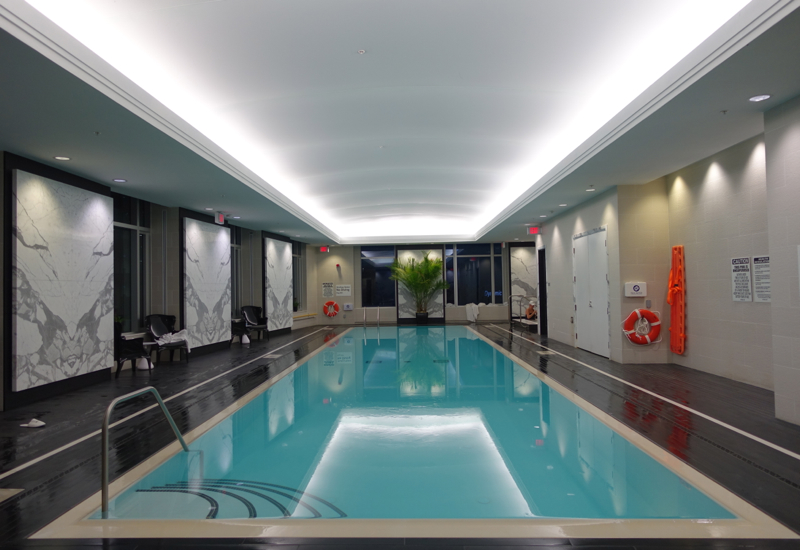 Trump Toronto Hotel Review: Swimming Pool