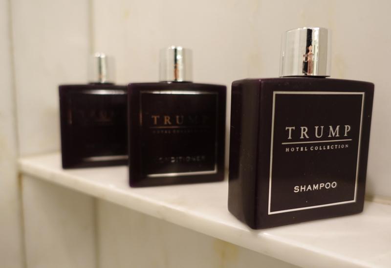 Trump Branded Bath Products, Trump Toronto Hotel Review