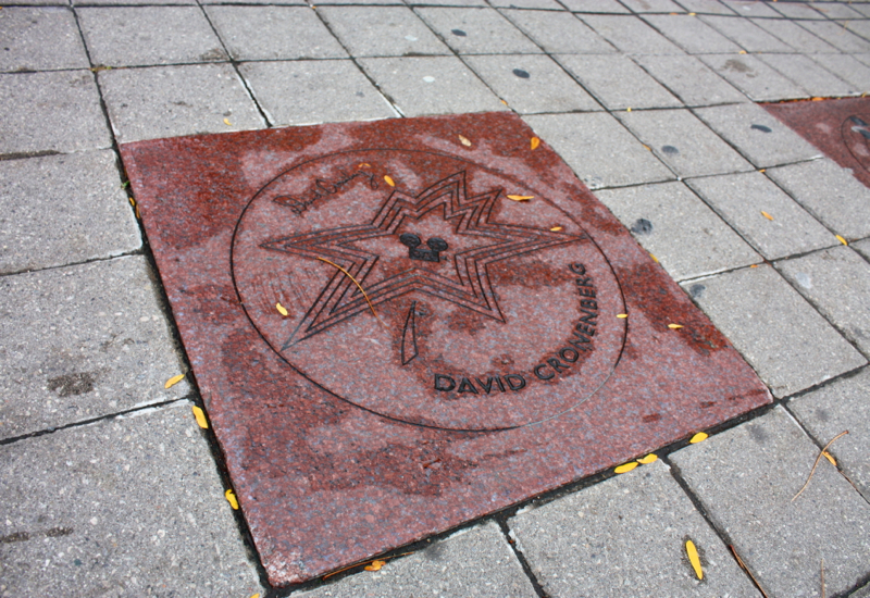 Canada Walk of Fame: David Cronenberg's Star, LiveToronto Walking Tour Review