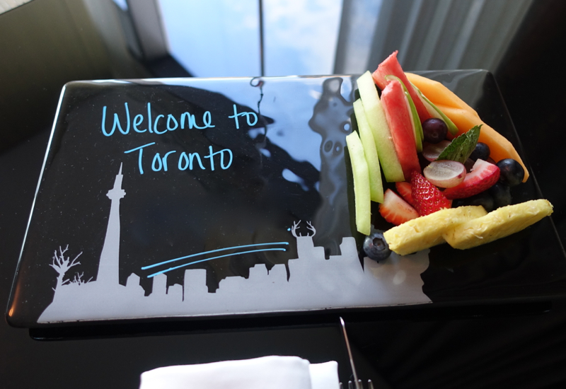 Four Seasons Toronto Review-Kids' Fruit Welcome Amenity