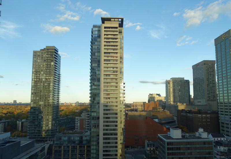 View from Four Seasons Toronto Premier Room