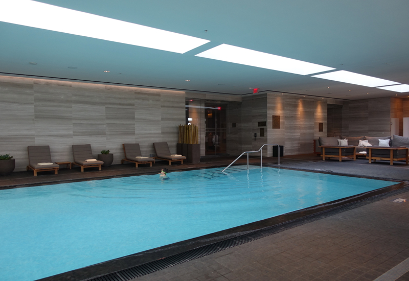 Four Seasons Toronto Review-Swimming Pool