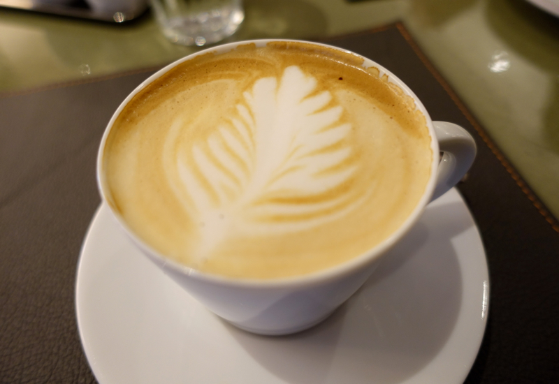 Cappuccino, Cafe Boulud Toronto Review