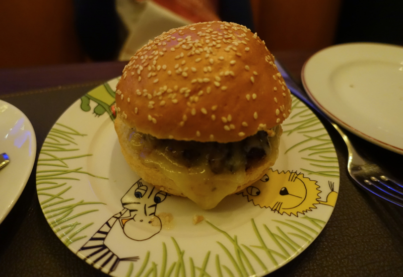 Kid's Cheeseburger, Cafe Boulud Toronto Review