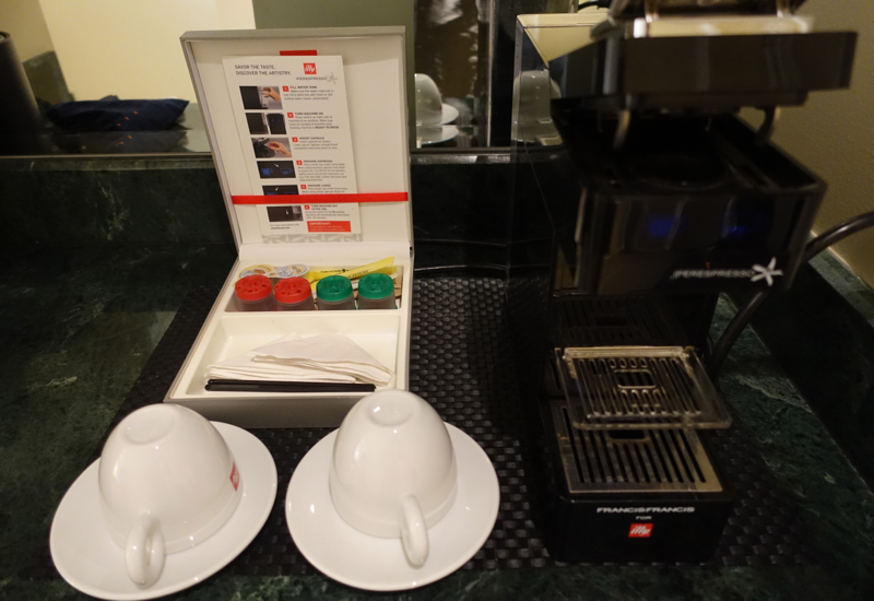 Park Hyatt Toronto Review-illy Espresso Maker
