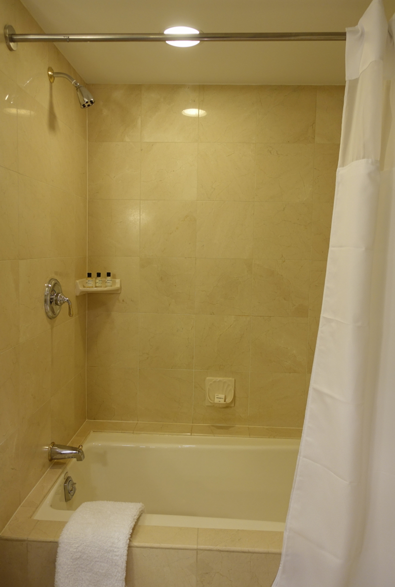 Park Hyatt Toronto Review-Park Room Bathtub Shower Combo