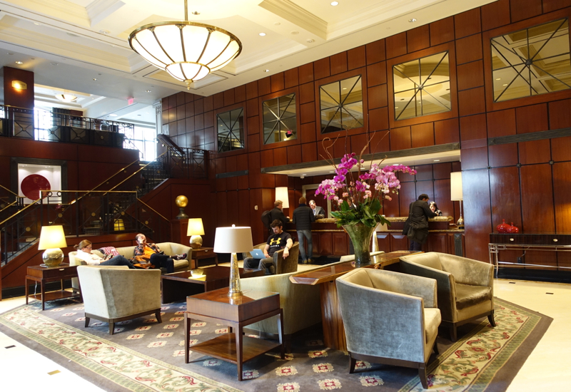 Park Hyatt Toronto Review-Lobby and Reception