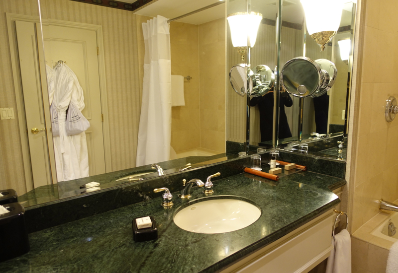 Park Hyatt Toronto Review-Park Room Bathroom