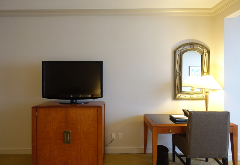 Park Hyatt Toronto Review-Park Room TV and Work Desk