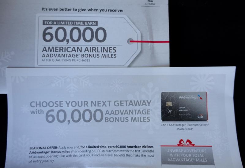 60K Citi AAdvantage Platinum Select Bonus Offer (Targeted)