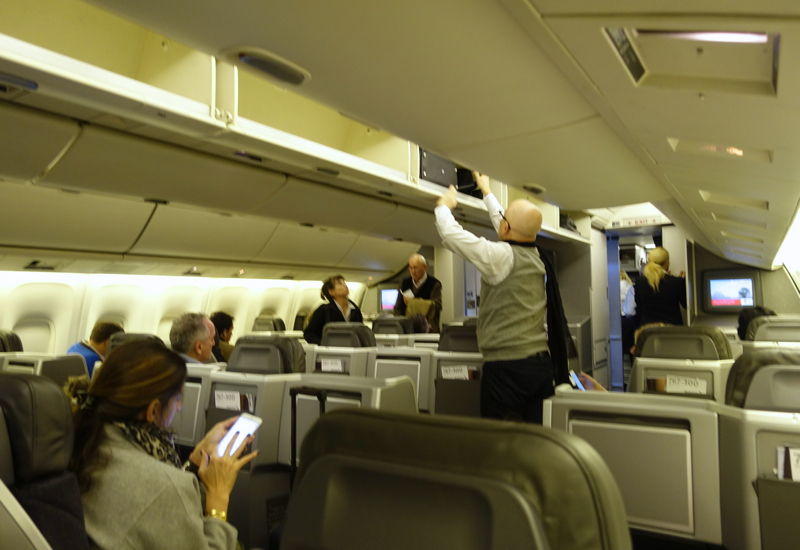 Review: American Airlines 767-300 Business Class Cabin