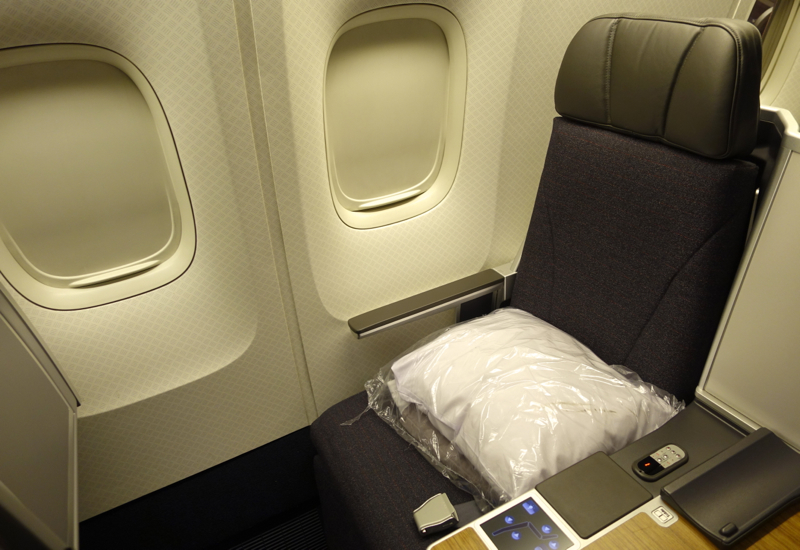 Review: American Airlines 767-300 Business Class Seat