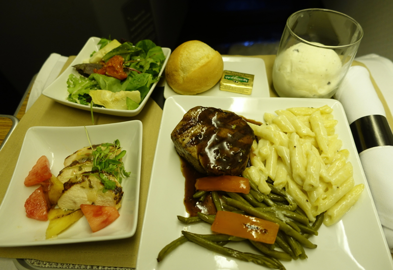 Express Meal Option, AA Business Class Review 767-300