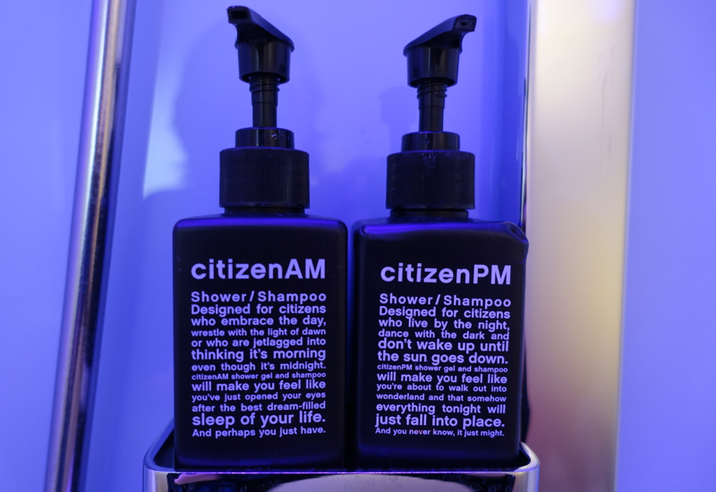 CitizenM Paris CDG Airport Hotel Review: Bath Products
