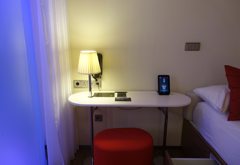 Review: CitizenM Paris Charles de Gaulle Airport-Nightstand