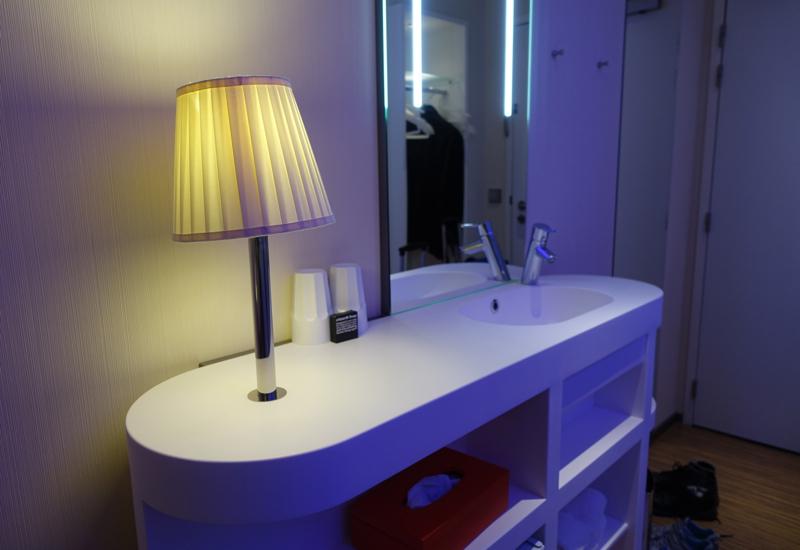 Sink, CitizenM Paris Charles de Gaulle Airport Hotel Review