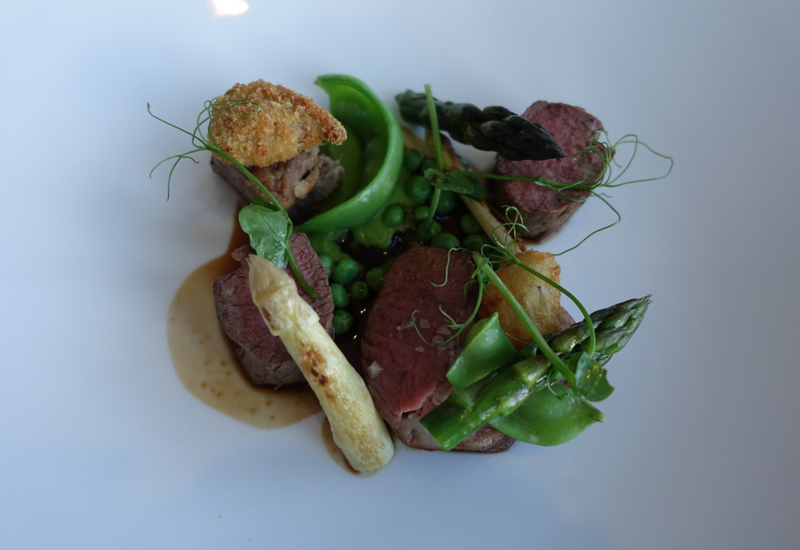 New Zealand Lamb and Asparagus, Matakauri Lodge, Glenorchy