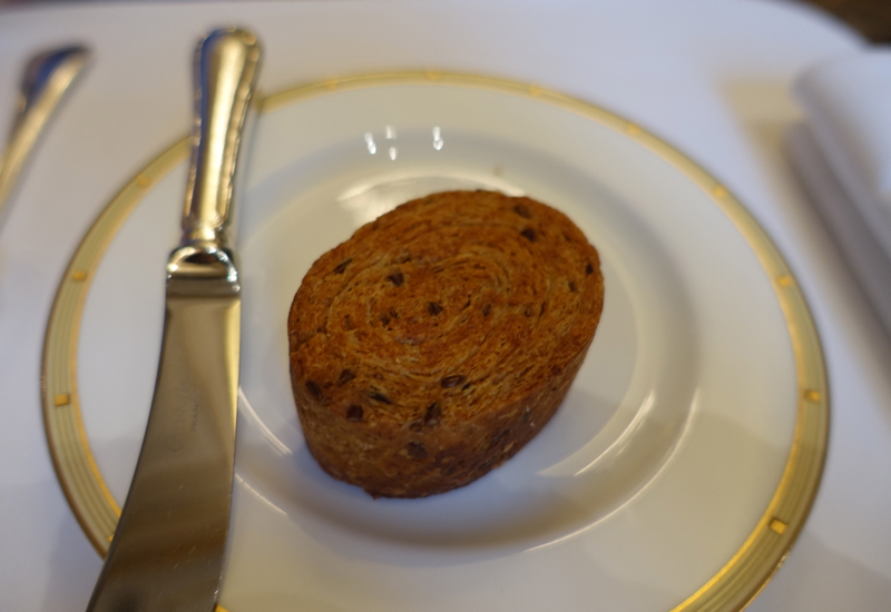 Buttery Seeded Roll, Le Cinq Restaurant Review