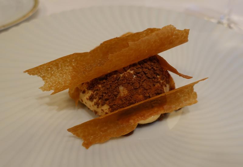 Salted Caramel Custard, Le Cinq Review, Four Seasons Paris