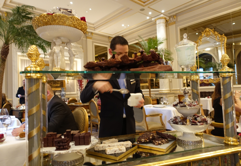 Chocolate Trolley, Le Cinq Review, Four Seasons Paris