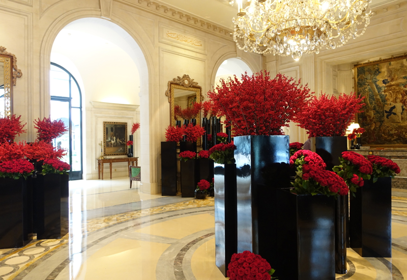 Le Cinq Restaurant Review, Four Seasons Paris