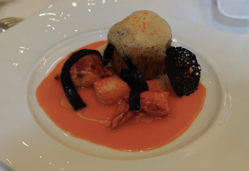 Truffle Spaghetti with Lobster, Le Cinq Review, Four Seasons Paris