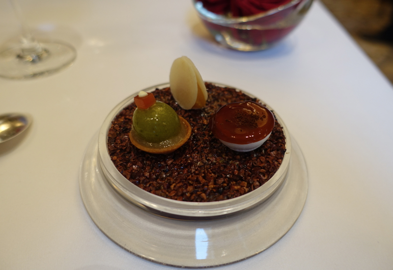 Trio of Pre-Desserts, Le Cinq Review, Four Seasons Paris