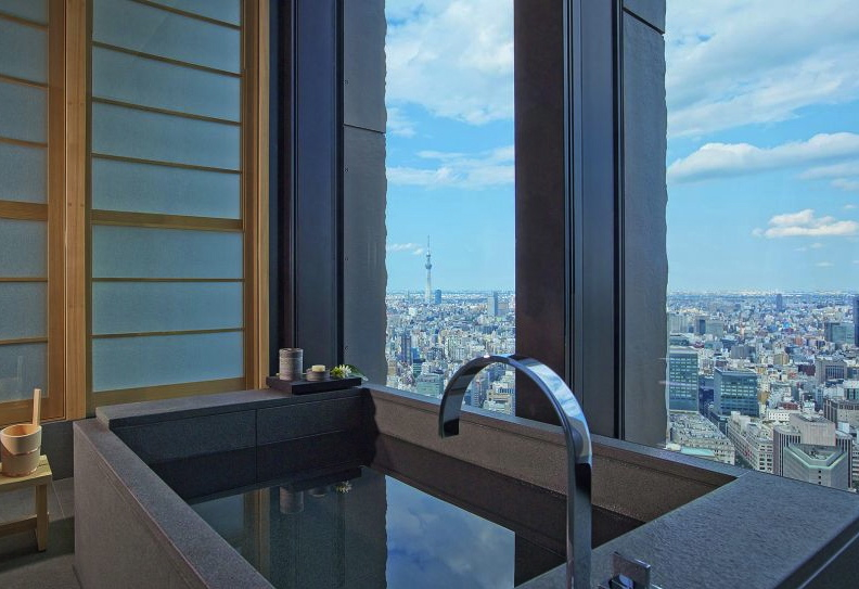 Where to Travel for 10th Anniversary Trip: Aman Tokyo